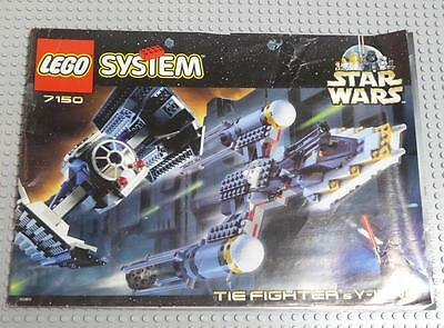 LEGO INSTRUCTIONS MANUAL BOOK ONLY 7150 Tie Fighter & Y Wing x1PC