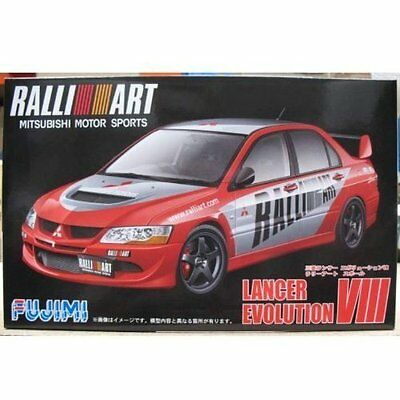 Fujimi ID-148 1/24 scale Mitsubishi Lancer Evolution VIII from Japan new .
