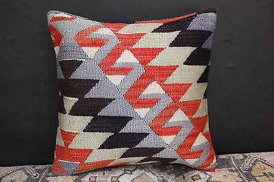 Great Oushak Pillow,Kilim Rug Pillow,Turkish Handmade Cushion Cover,Couch Pillow