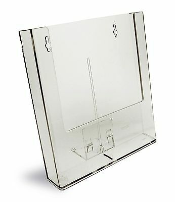 Taymar A4, Counter Standing, SINGLE POCKET, BROCHURE HOLDER with bracket- W230-B