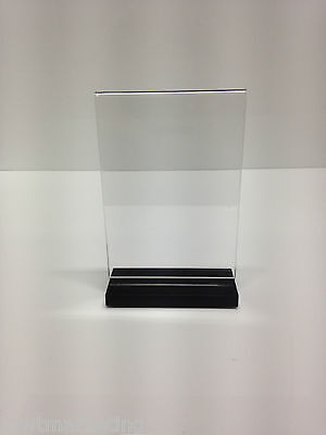 A6 Acrylic Perspex Ticket Holder - Displays, Promotional Brochures ,Tickets
