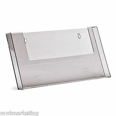 Taymar A4, WALL MOUNTED LANDSCAPE BROCHURE HOLDER  -  Restaurants Menus - W330