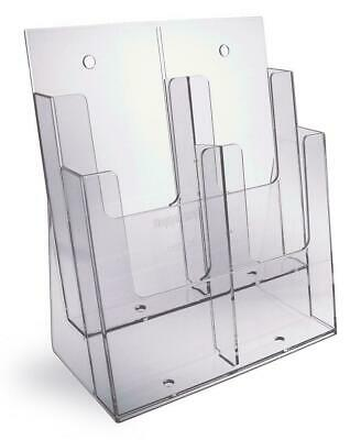 Taymar A4, 2 Pocket Counter Standing Brochure Holder - 2C230