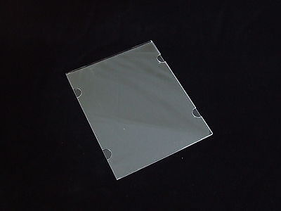 A4 Single Poster Holder Acrylic Perspex- Wall/Cable Mount - Real Estate Windows