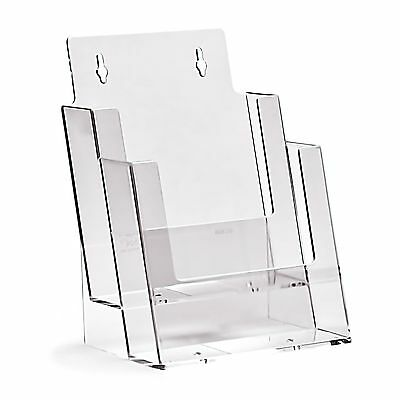 Taymar A5, Counter Standing, 2 Tiered Pocket Portrait Brochure Holder - 2C160