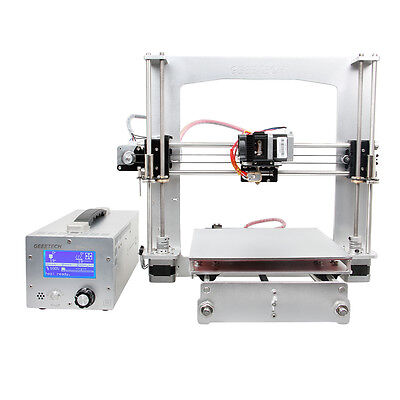 GEEETECH full Aluminum frame Prusa I3 3d Drucker with GT2560 PSU box Prusa II