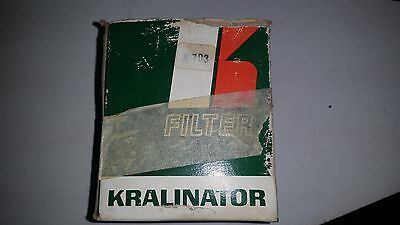 Kralinator vintage oil filter K703A New Old Stock