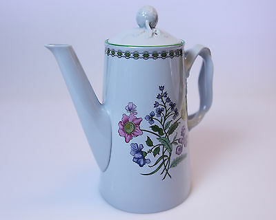 Spode vintage china Coffee Pot with Lid W150 Summer Palace Copeland England
