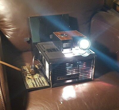 Vintage Bell & Howell Slide Cube Projector with Remote