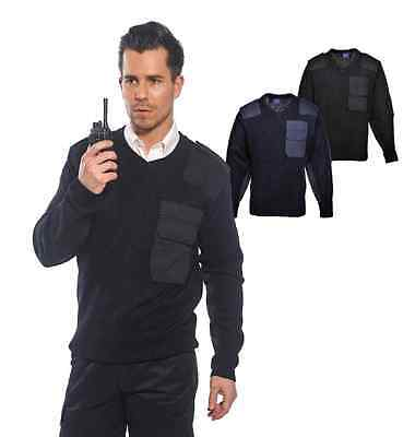 Portwest B310 Nato Mens Sweatshirt 100% Acrylic Police Security Uniform Workwear