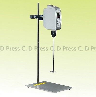 High Speed Food&Lab Electric Mixer Agitator High Accuracy Homogenizer 30-2000rpm
