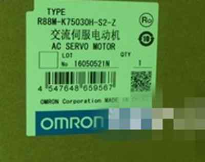 1PC New OMRON servo motor R88M-K75030H-BS2-Z #OH01