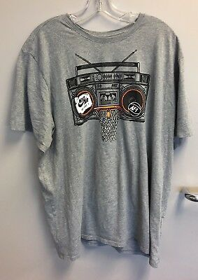95f463a6 Nike Air Force 1 Radio Boombox Basketball AF-1 Graphic Tee T Shirt Size XL