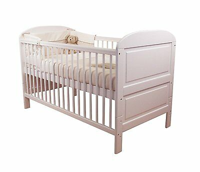 East Coast Angelina Cot Bed White                       ****2 in 1 bed & Cot****