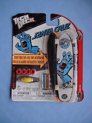 2012 Tech Deck   SANTA CRUZ    Screaming Hand   Rare