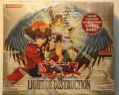 Yu-Gi-Oh Display Box Light of Destruction 1. Ghost Rare 24 Booster sealed (1)