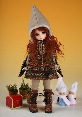 Bjd Doll Soom Bi-Weekly Yosd Christmas Eskimo Tuc1141 Teenie Gem Outfits Clothes