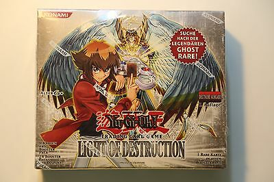 Yu-Gi-Oh Display Box Light of Destruction 1. Ghost Rare 24 Booster sealed (#2)