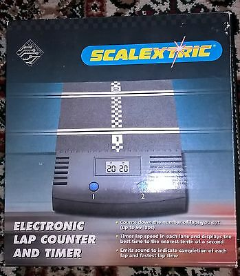 scalextric lap counter and timer. new