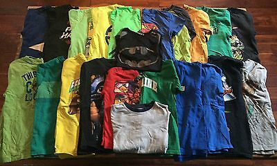 Lot of Boys Size 8 Graphic T-Shirts!