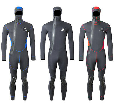 Unisex Arroyo Hooded Full Wetsuit Diving Cold Water Sea Two Bare Feet