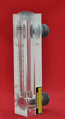 "LZM-50/ acrylic panel type  flow meter for water/gas/air  PT or NPT 2"" thread"