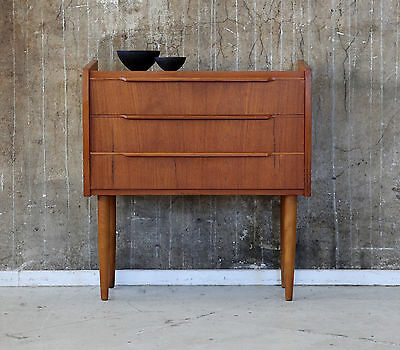60er KOMMODE DANISH 60s VINTAGE CABINET CHEST OF DRAWERS MIDCENTURY