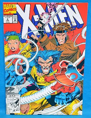 Marvel Comics X-Men #4 The Resurrection and The Flesh 1992 Omega Red 1st Appear