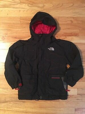 Boys The North Face Hyvent Jacket With Hoodie Size S