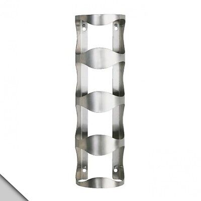 IKEA - VURM 4-bottle Wine Rack, Stainless Steel. Delivery is Free