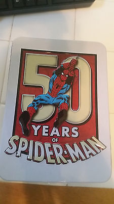 2013 Spiderman 50th Anniversary 1 Oz Proof Silver Coin $2 Niue ALL OGP Included