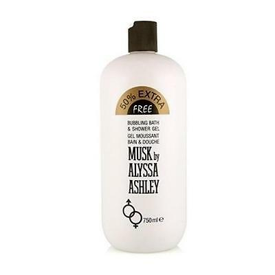 MUSK shower gel 750 ml limited edition