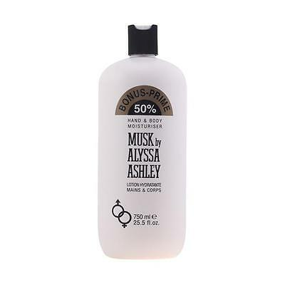 MUSK hand and body lotion 750 ml limited edition