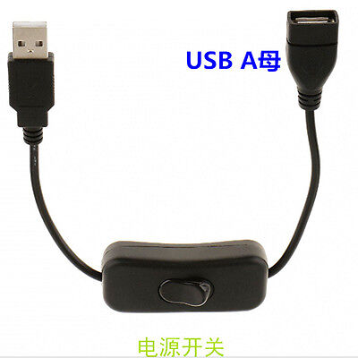 USB Cable ON/OFF Switch Toggle Power Control For Arduino Raspberry New Design