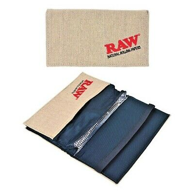 Genuine RAW Smokers Wallet Tobacco Pouch