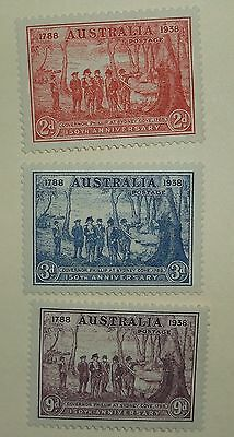 Australia Stamp 163-5   MNH   Cat $33.75