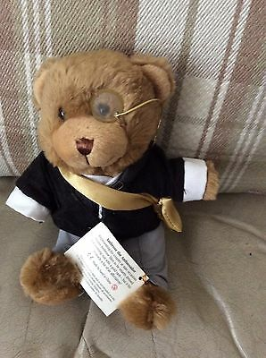 TEDDY BEAR COLLECTION- AMBROSE THE AMBASSADOR - Tagged