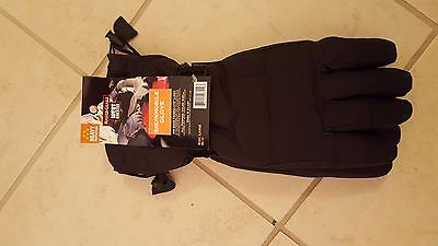 mens winter snowmobile gloves size Large w/Thinsulate New! Unworn! With tags!