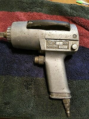 "Snap-On model IM-5 Air Impact Gun 1/2"" drive"
