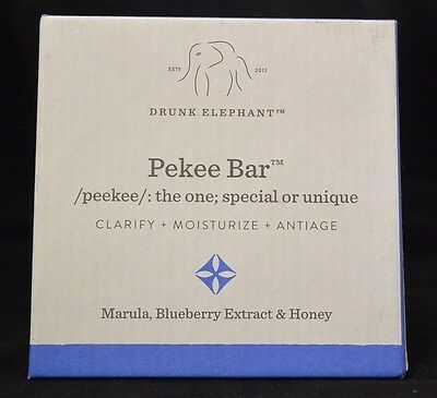 [NIB/Sealed] Pekee Soap Bar by Drunk Elephant (120gm / 4 oz) FREE FAST SHIPPING!