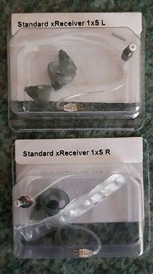 2 NEW Phonak / Unitron STANDARD  Receivers SIZE 1 Hearing Aids rrp £59.98 pair
