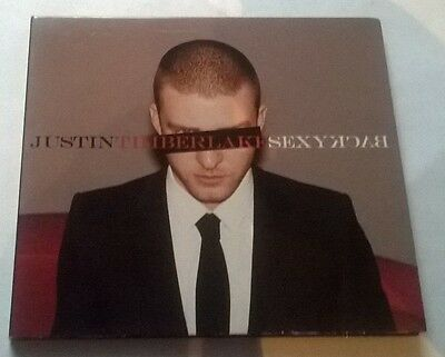 Justin Timberlake * Sexyback * Rare 1 Trk Promo Cd Gatefold Digipak Made In Eu