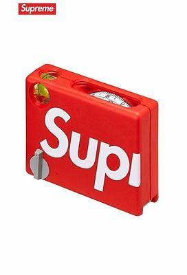Brand New Supreme Measuring Tape Tape Measure red SS17 BMI IN HAND