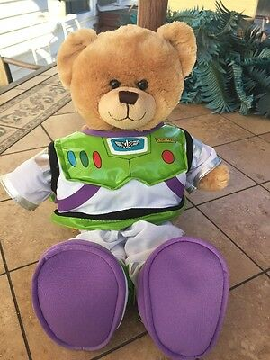 "Build A Bear 16"" Buzz Light Year Space Bear With Outfit"