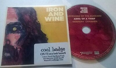 Iron And Wine * Lovesong Of The Buzzard * Rare 3 Trk Promo Cd Card Case