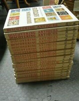 Discovering Antiques Complete Set Volumes 1-20 1972-73 Greystone Press, Mint!