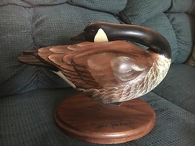 WOOD CARVED CANADA GOOSE MEDALLION SERIES MASTER'S EDITION!! Numbered/Signed