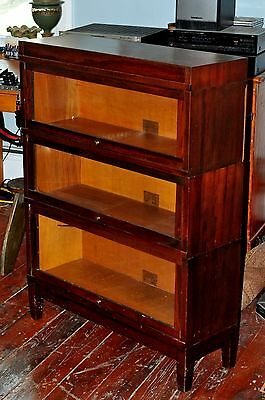 Antique GLOBE WERNICKE BARRISTER / 3 DRAWER
