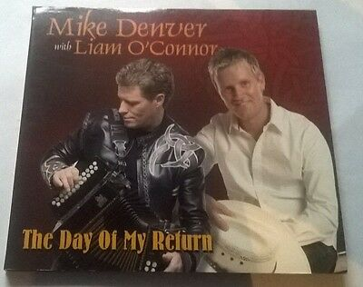 Mike Denver & Liam O'connor * The Day Of My Return * Very Rare 1 Tk Cd Irish