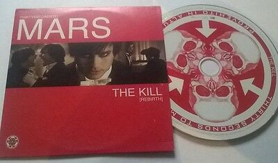 Thirtys Seconds To Mars  * The Kill * Rare 1 Trk Promo Cd 2006 Irish Card Case